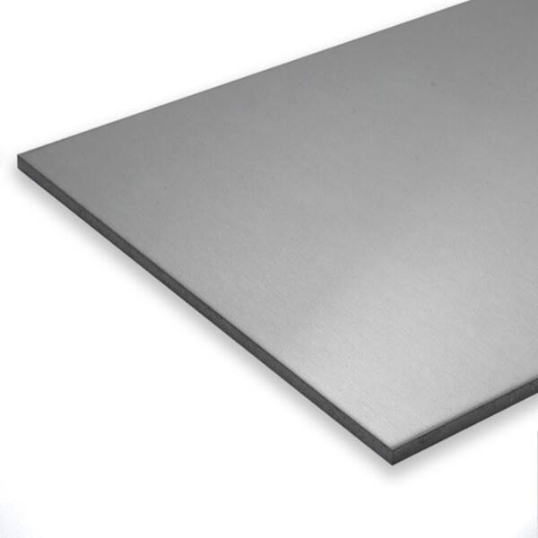 Edelstahlblech 1.2mm V2A 1.4301 Platten Bleche Zuschnitt 100 mm bis 2000 mm