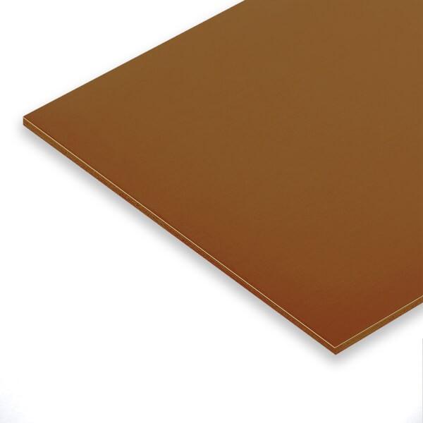 Bronze Platte