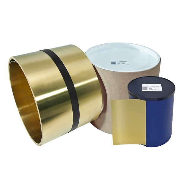 Brass foils - brass sheets on rolls