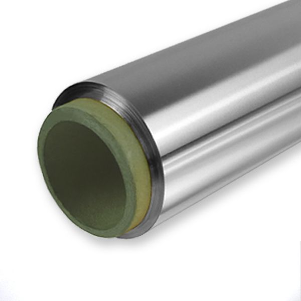 Edelstahl Folie auf Rolle (1.4301) glatt - Stärke 0,2 mm